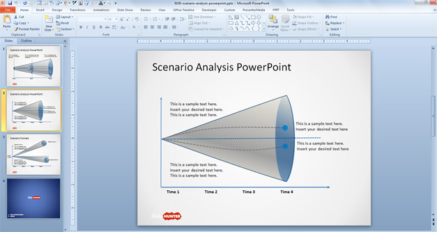 Free Scenario Analysis PowerPoint Template