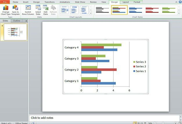 Gantt Charts in PowerPoint