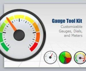 Gauge ToolKit Provides Animated Gauges For PowerPoint Presentations