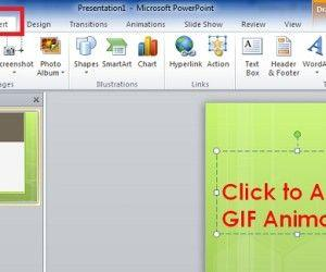 Add GIF Animation to PowerPoint Slides