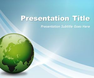 Free Global Business PowerPoint Template