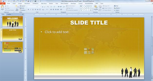 Plantilla de liderazgo para PowerPoint gratis