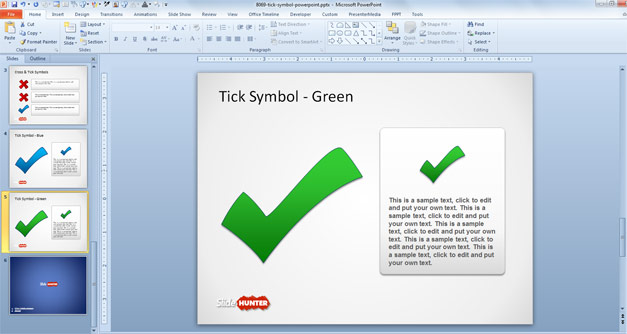 Free Tick Symbol For Powerpoint Presentations Free