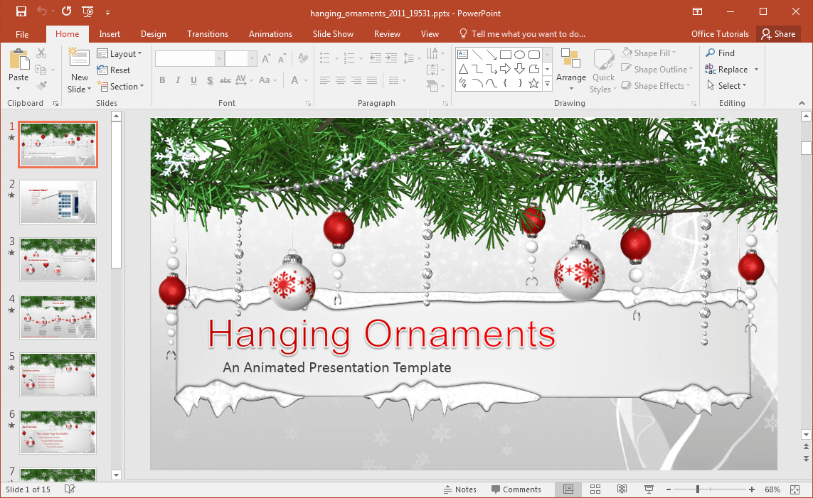 hanging-ornaments-powerpoint-template