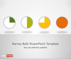 Simple Harvey Balls for PowerPoint
