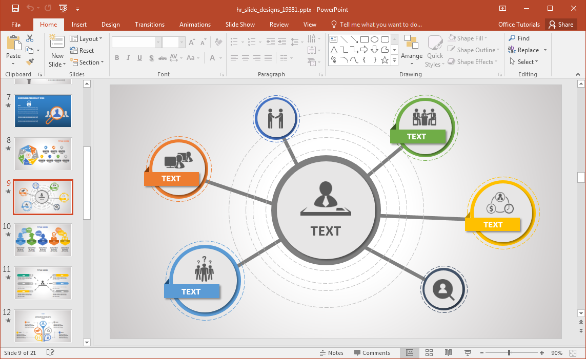 human-resources-diagram-slide-for-powerpoint