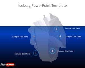 Iceberg PowerPoint Template
