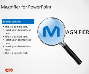Magnifier PowerPoint Template