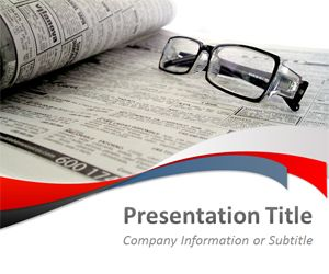 Free Media And News Powerpoint Template Free Powerpoint