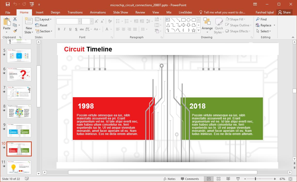 microchip timeline