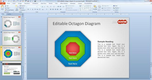 Octagon powerpoint