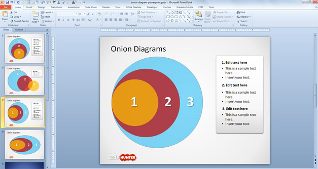 Onion PPT Template