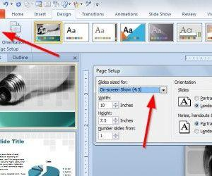 How to Make a 16:9 Presentation Template in PowerPoint 2010