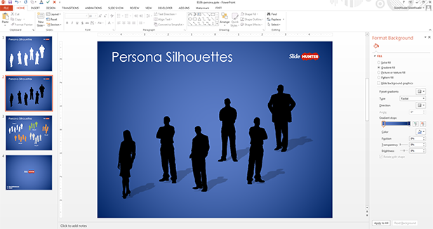 persona-silhouettes-template