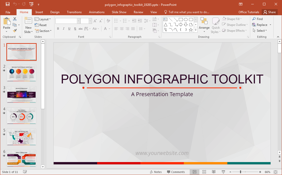 polygon-infographic-powerpoint-template