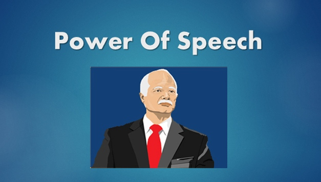 power of speech