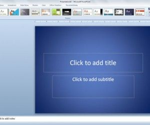 Backgrounds for PowerPoint presentations