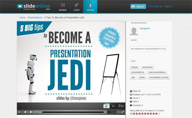 Presentation Jedi