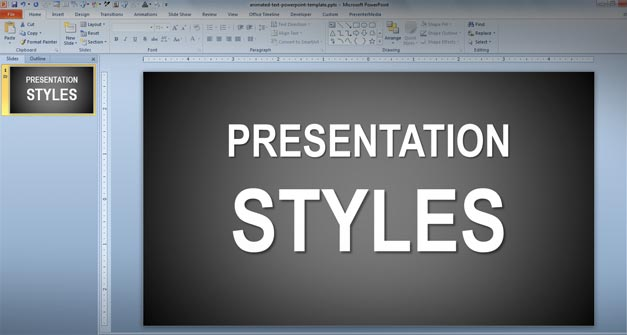 Presentation Styles techniques powerpoint