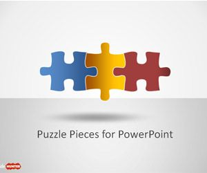 Puzzle Piece Shapes for PowerPoint