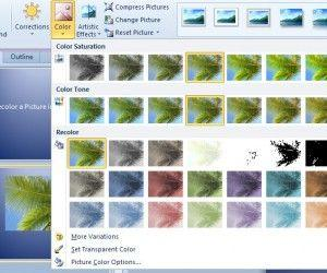 How to Change the Color of a Picture in PowerPoint 2010
