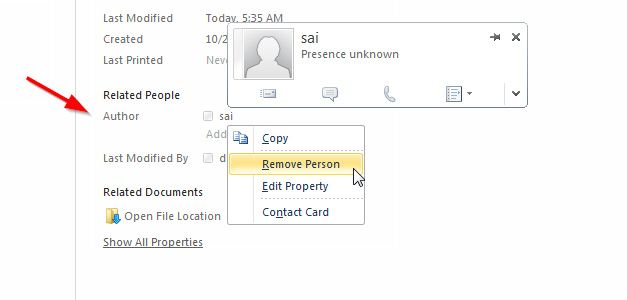remove person powerpoint template