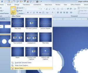Reusing Slides in PowerPoint 2010