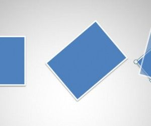 How to Rotate Shapes in PowerPoint 2010