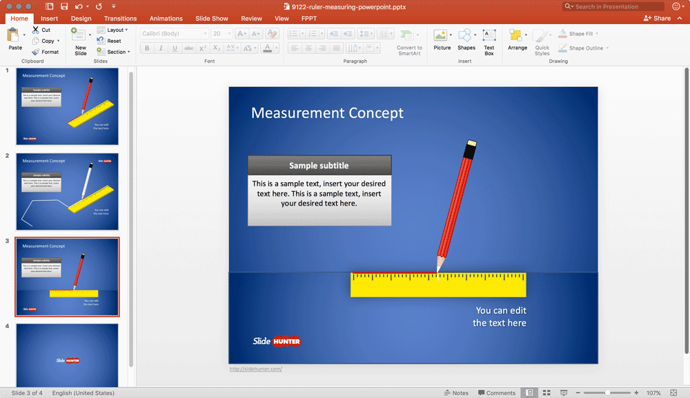 ruler-powerpoint-template