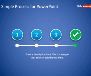 Simple Process PowerPoint Template