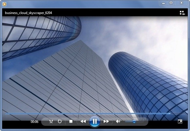 skyscraper video animation for powerpoint