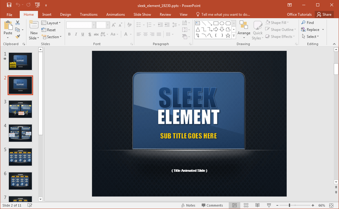sleek -design-powerpoint-template