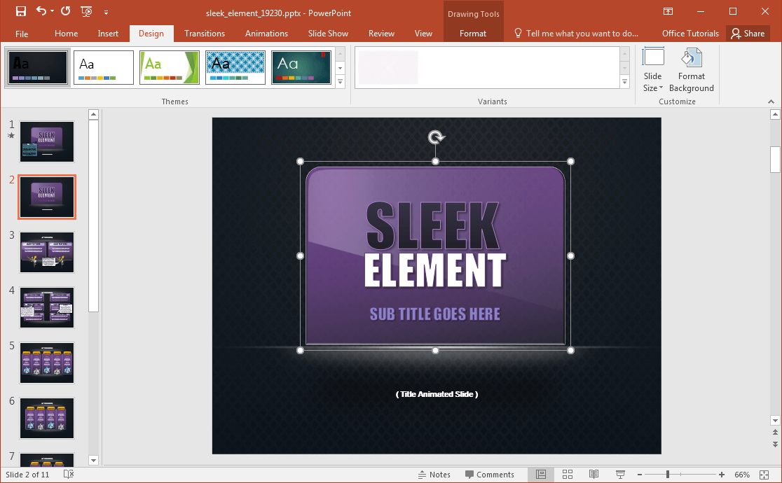 sleek-powerpoint-template