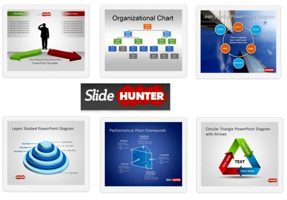Example Of PowerPoint Templates Provided By SlideHunter For Free