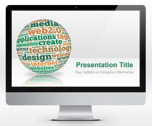 Widescreen SOLOMO PowerPoint Template (16:9)