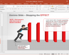 Domino Effect Animations For PowerPoint