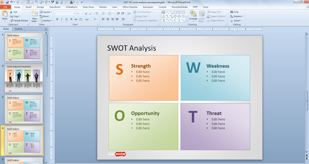 Business plan template filetype ppt