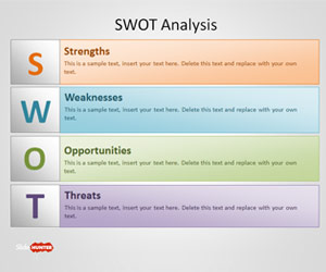 Free Swot Powerpoint Template Free Powerpoint Templates