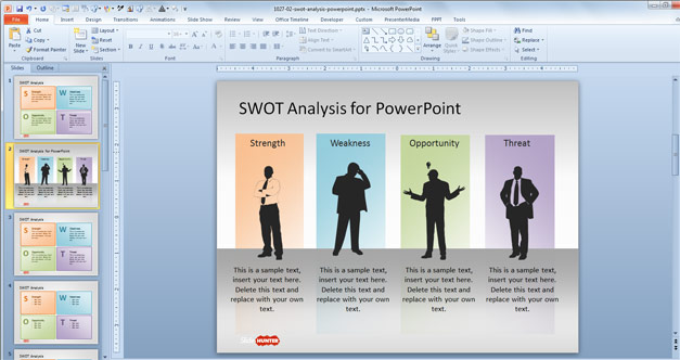 Analysis Powerpoint Templates Free Download Free Swot Powerpoint Template