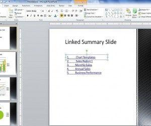 Create Table of Content in PowerPoint Presentation