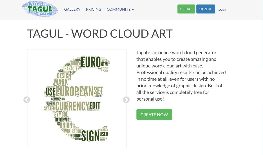 tagul-wordcloud