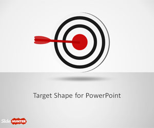 Goal Target Shapes for PowerPoint