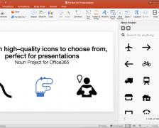 Download Free Icon Clipart With The Noun Project Add-in For PowerPoint & Word