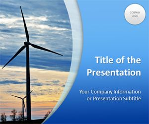 Wind Energy PowerPoint Template