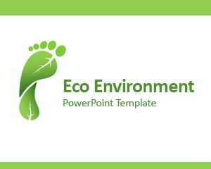Eco Environment PowerPoint Template