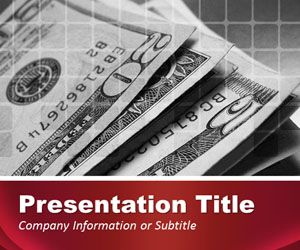Red Finance PowerPoint Template