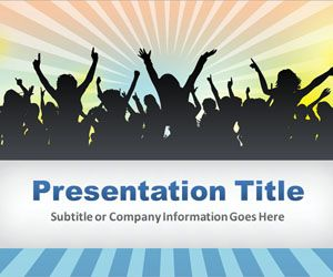 Entertainment PowerPoint Template