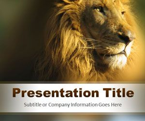 Strength PowerPoint Template