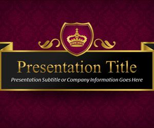 Queen PowerPoint Template
