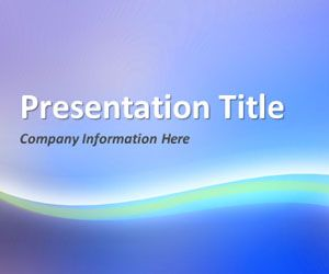Abstract Curves 1 PowerPoint Template